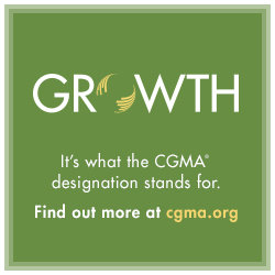 Growth—It's what the CGMA designation stands for. Find out more at CGMA.org.