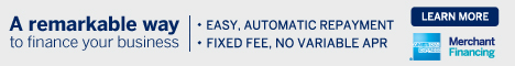 - Easy, automatic repayment. Fixed fee, no variable APR. Learn more. American Express Merchant Financing.
