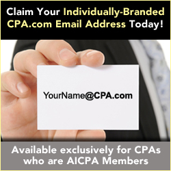Claim your individually branded CPA email address today!