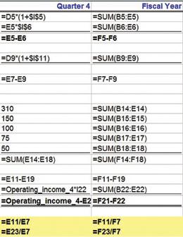 Display And Print Formulas In Excel