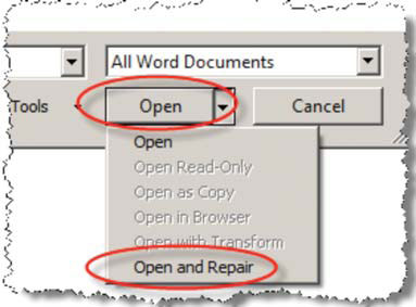 How to Fix Corrupted Microsoft Office Files
