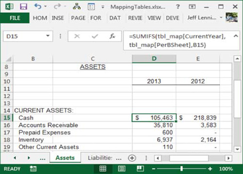 cash flow worksheet excel