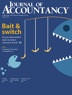 August 2015 Journal of Accountancy