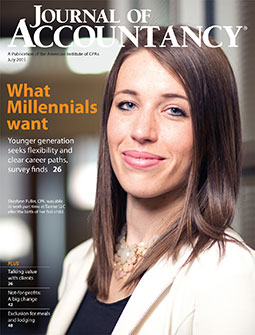 July 2015 Journal of Accountancy