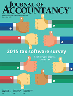 Journal of Accountancy, September 2015