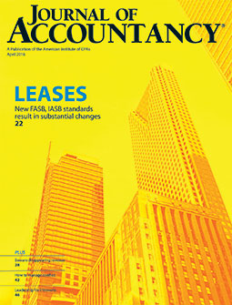 April 2016 Journal of Accountancy