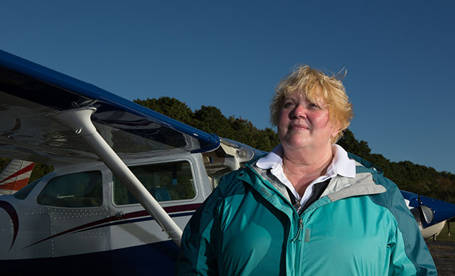Kristy Armstrong, CPA, CGMA, calls herself The Fabulous Flying CPA, combining her love of flying with her profession.