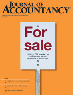 Journal of Accountancy, July 2016
