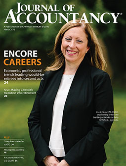 March 2016 Journal of Accountancy