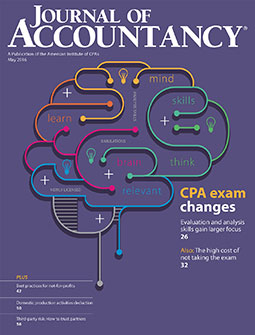 May 2016 Journal of Accountancy