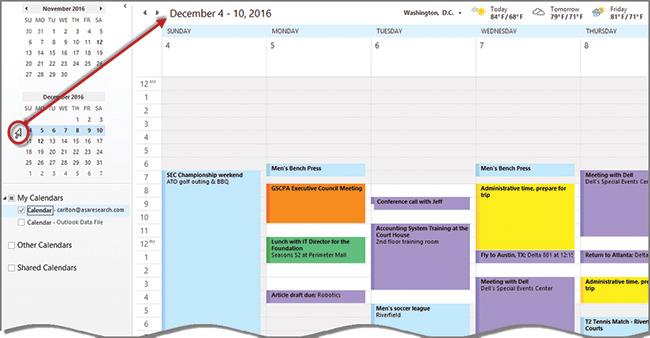 Outlook 2016 From Weak View To Week View Journal Of Accountancy