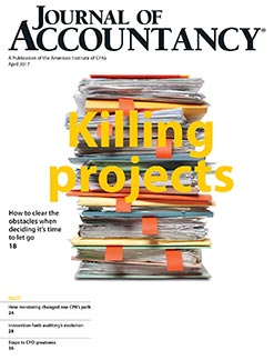 April 2017, Journal of Accountancy