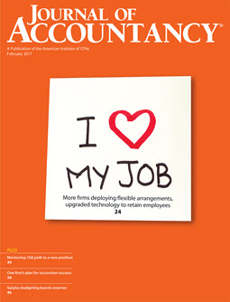 Journal of Accountancy, February 2017