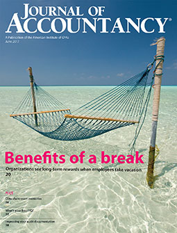 Journal of Accountancy, June 2017