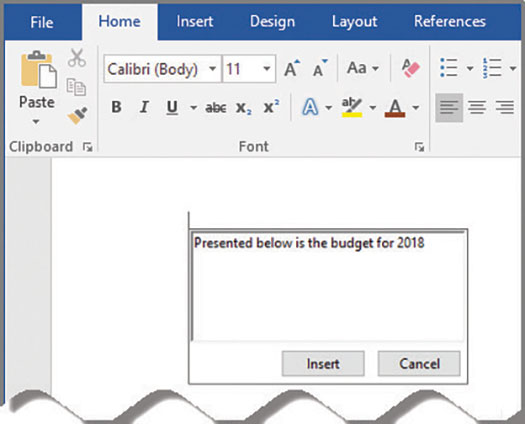 how to change speak text in microsoft word