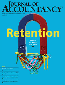 May 2017, Journal of Accountancy