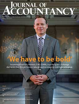 November 2017 Journal of Accountancy