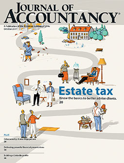 Journal Of Accountancy, October 2017