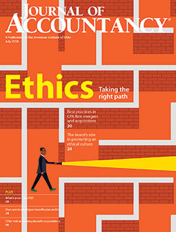 July 2018 Journal of Accountancy
