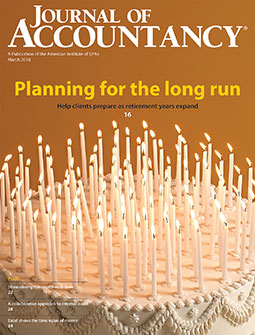 March 2018 Journal of Accountancy