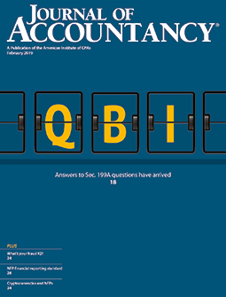 Journal of Accountancy, February 2019