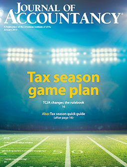 Journal of Accountancy issues - Magazine archives