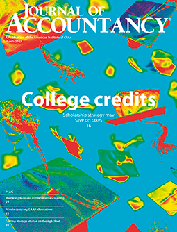 March 2019, Journal of Accountancy