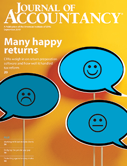 Journal of Accountancy, September 2019