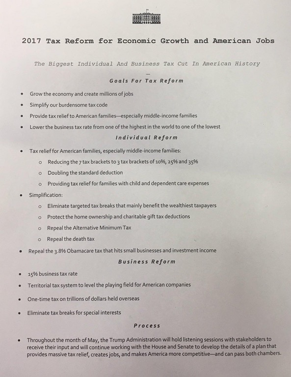 Trump's Tax Reform Priorities Unveiled  Journal Of. Cleaning Services Contract Proposal. Printable Monthly Calendar Free Template. Office Relocation Project Plan Template. Mba Internship Cover Letter Template. Samples Of Certificate Of Achievement Template. Other Skill In Resume Template. Standard Format For Resume Template. Pacific High School Diploma Template