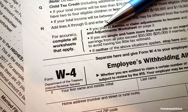 Irs Releases Updated Withholding Calculator And 2018 Form W 4