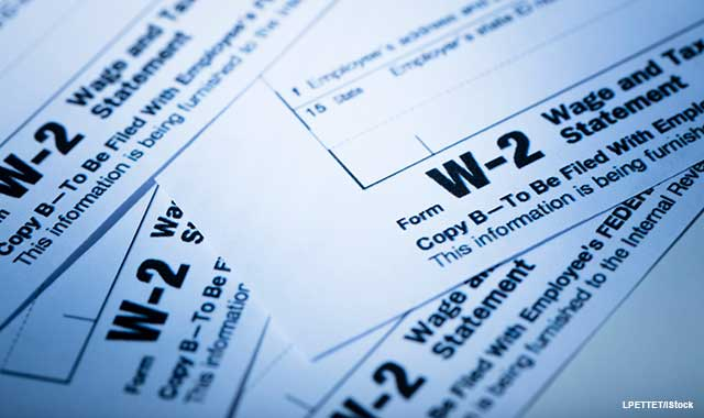 Rules Would Allow Truncated Taxpayer Ids On Forms W 2 Journal Of Accountancy