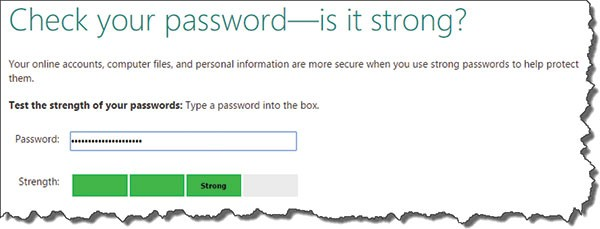 Unforgettable passwords