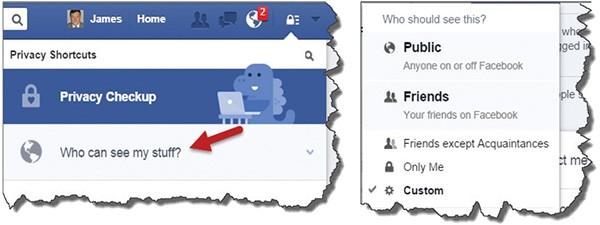 Scrubbing Facebook