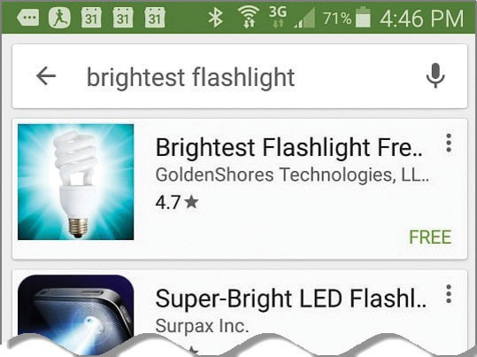 best free android flashlight app 2016