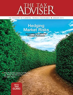 The Tax Adviser, January 2016