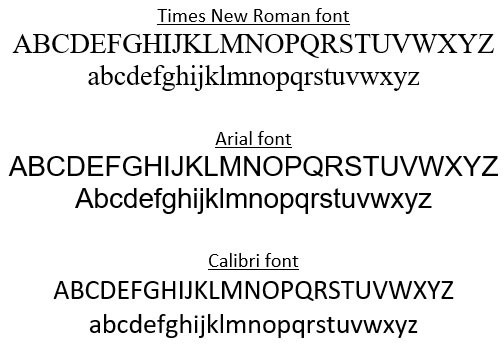 What fonts work best in Excel? - Journal of Accountancy