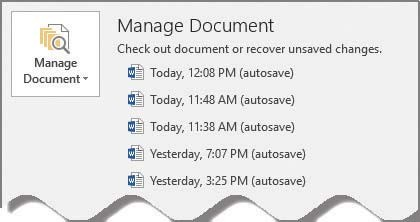 Microsoft Word: Find a lost document - Journal of Accountancy