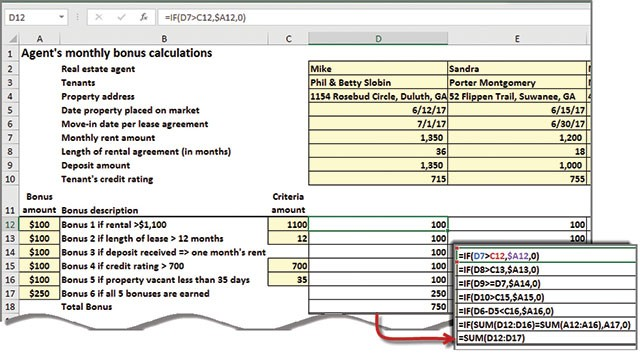 microsoft excel how to evaluate complex formulas journal of
