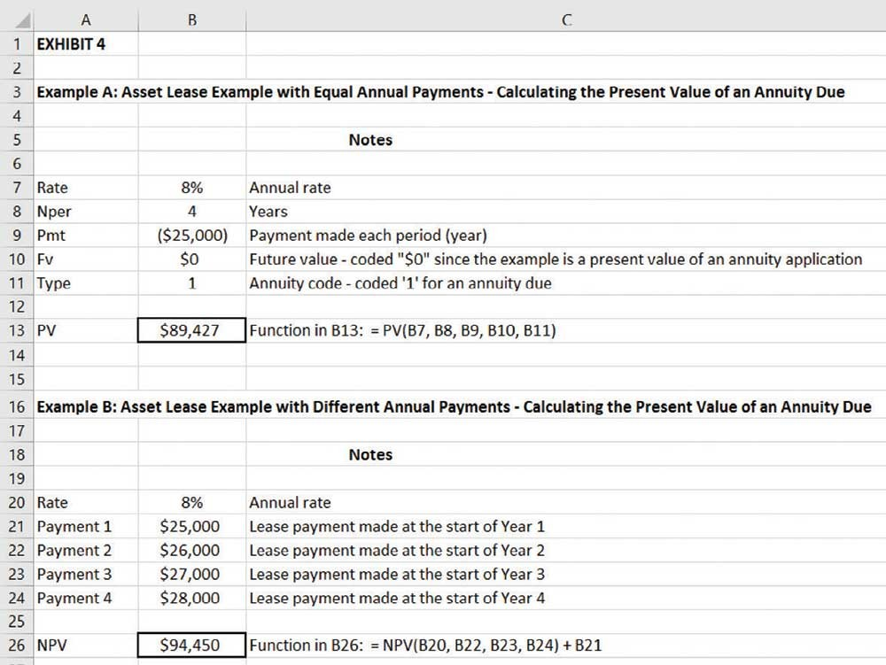 factoring in the time value of money with excel journal of accountancy