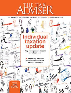 <i>The Tax Adviser</i>, September 2018