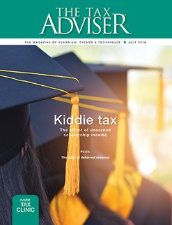 The Tax Adviser, July 2019