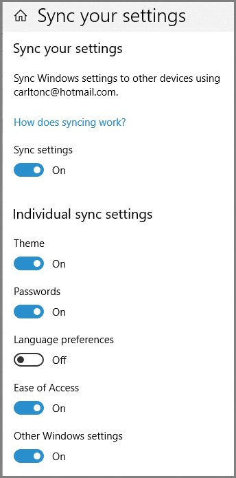 Online turn sync off [SOLVED] Windows