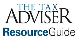 The Tax Adviser Resource Guide