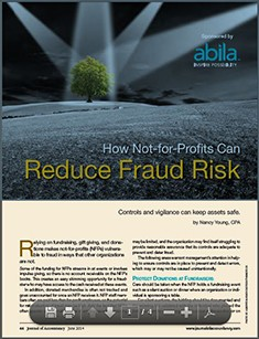How to reduce fraud risk at not-for-profits