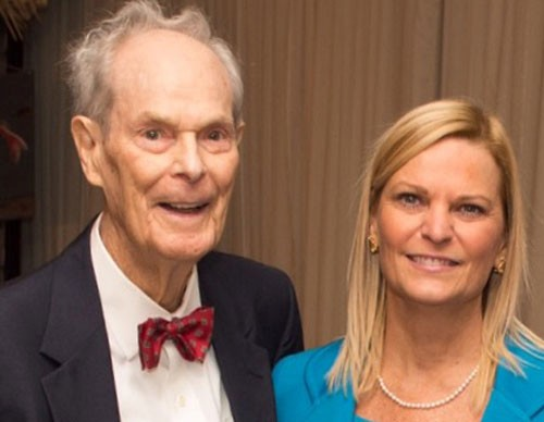 AICPA Chair Tommye E. Barie and her father, James Elam